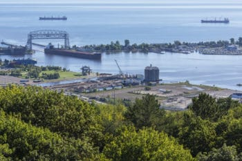 Park Point in Duluth, Minnesota