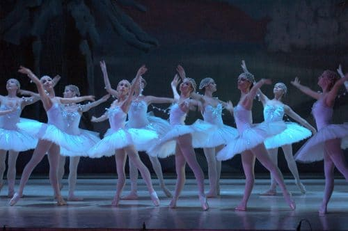 DECC ballet dancers