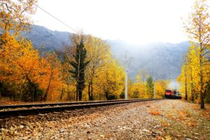 This Fall, take a ride on Duluth's Scenic Railroad 3