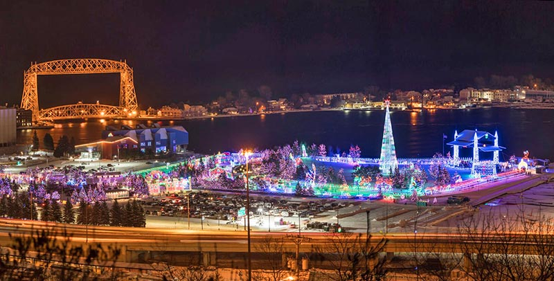 Bentleyville Tour of Lights in Duluth 2020