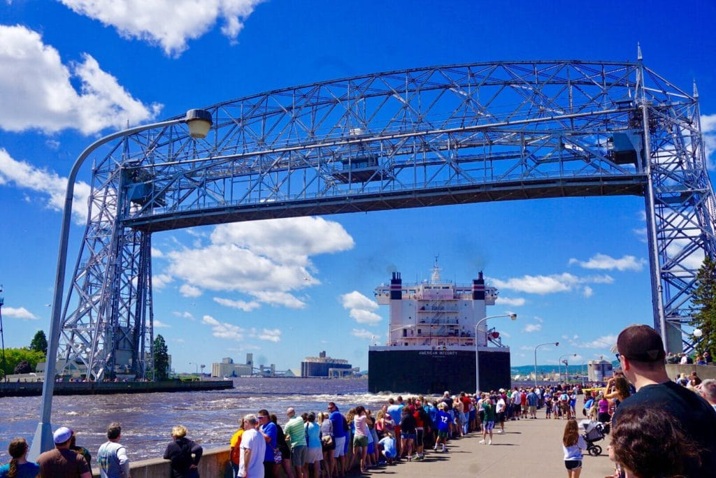 Duluth MN is the most beautiful city